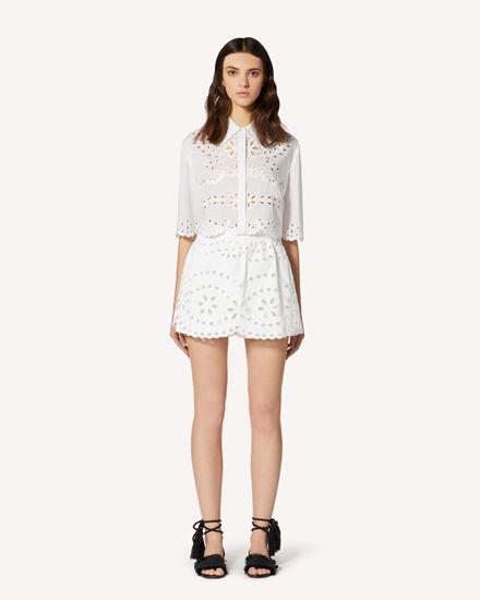 REDValentino Shorts Woman TR0RF00I51N 0BO f