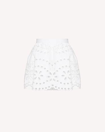REDValentino TR0RF00I51N 0BO Shorts Woman a