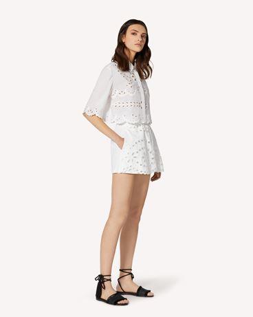 REDValentino TR0RF00I51N 0BO Shorts Woman d