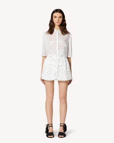REDValentino TR0RF00I51N 0BO Shorts Woman f