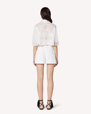 REDValentino TR0RF00I51N 0BO Shorts Woman r