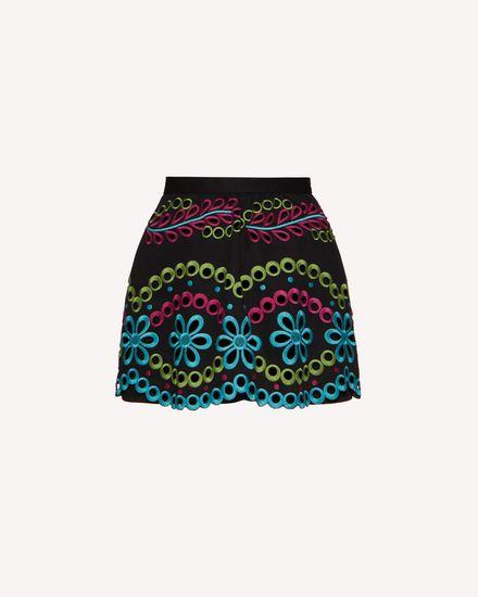 REDValentino Shorts Woman TR0RF00I51M N78 a
