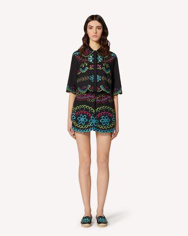 REDValentino TR0RF00I51M N78 Shorts Woman f