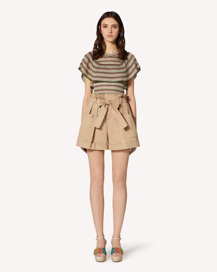 REDValentino Shorts Woman TR0RFD104YN 191 f