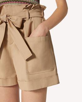 REDValentino Gabardine shorts
