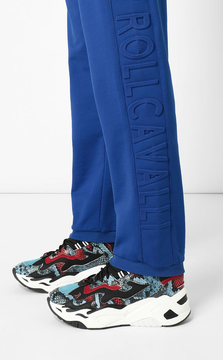 JUST CAVALLI Track trousers with slogan Casual pants Man a
