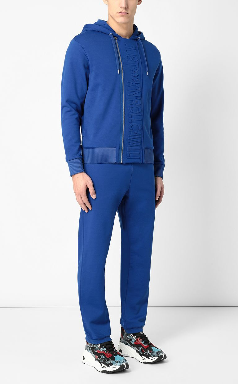 JUST CAVALLI Track trousers with slogan Casual pants Man d
