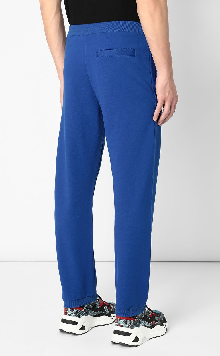 JUST CAVALLI Track trousers with slogan Casual pants Man e