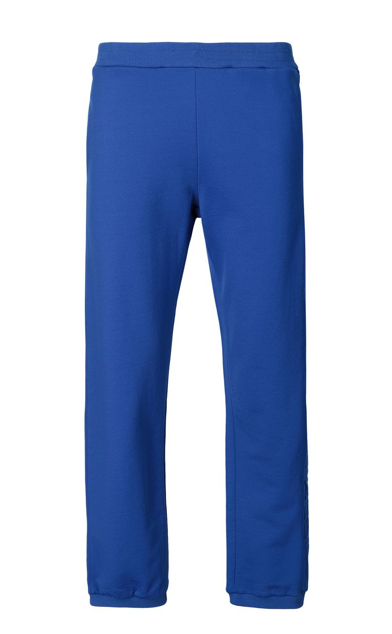 JUST CAVALLI Track trousers with slogan Casual pants Man f