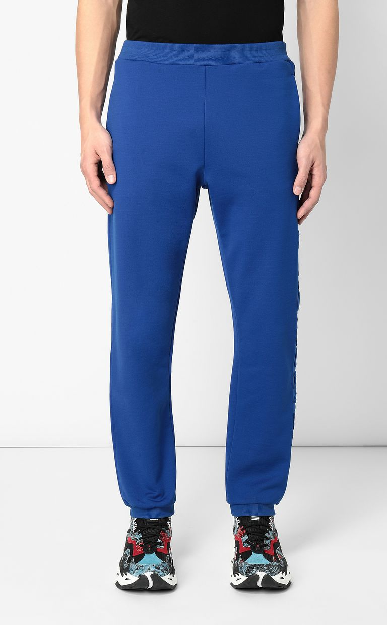 JUST CAVALLI Track trousers with slogan Casual pants Man r