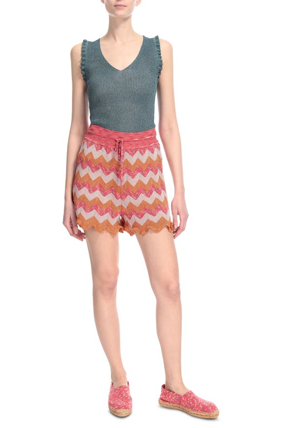 M MISSONI Shorts Woman, Frontal view