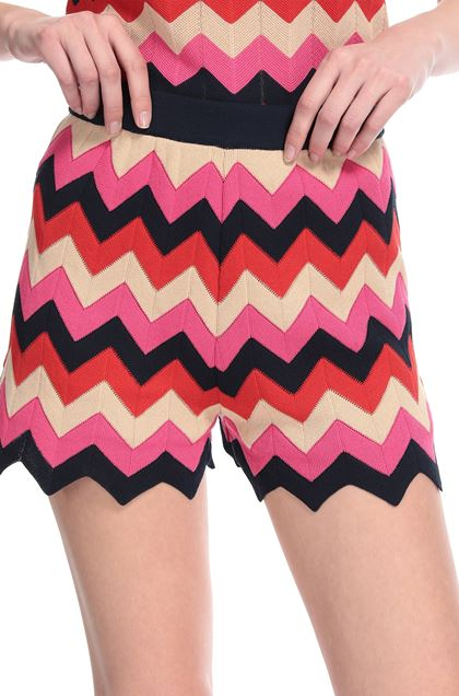 M MISSONI Shorts Red Woman - Front