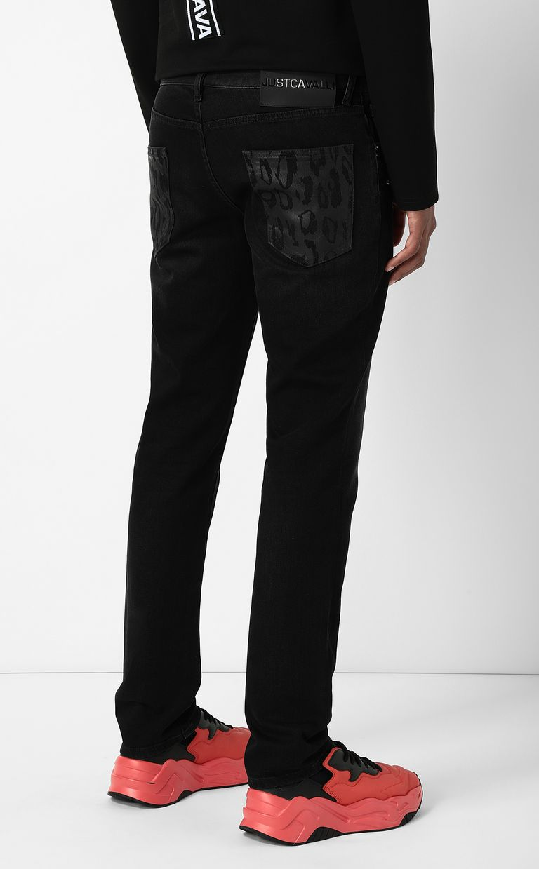 JUST CAVALLI Just-fit jeans Casual pants Man a