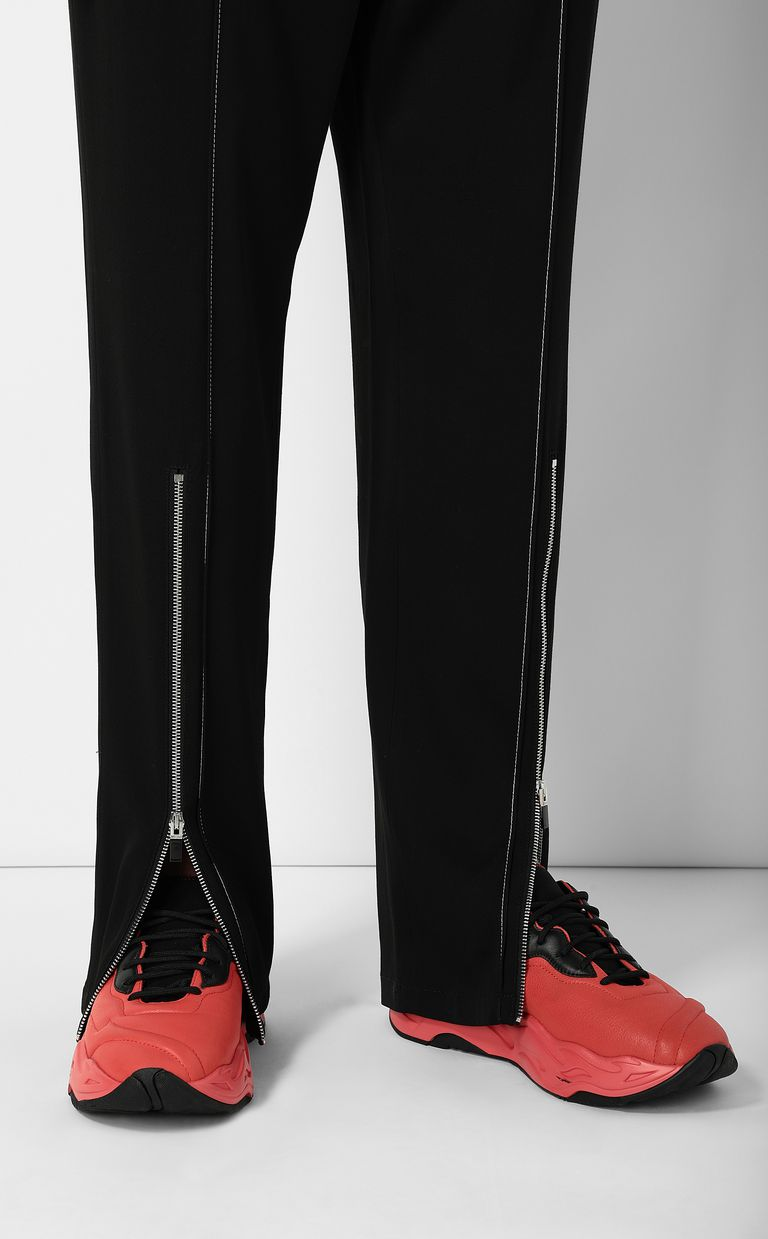 JUST CAVALLI Tailored trousers with zip detail Casual pants Man e