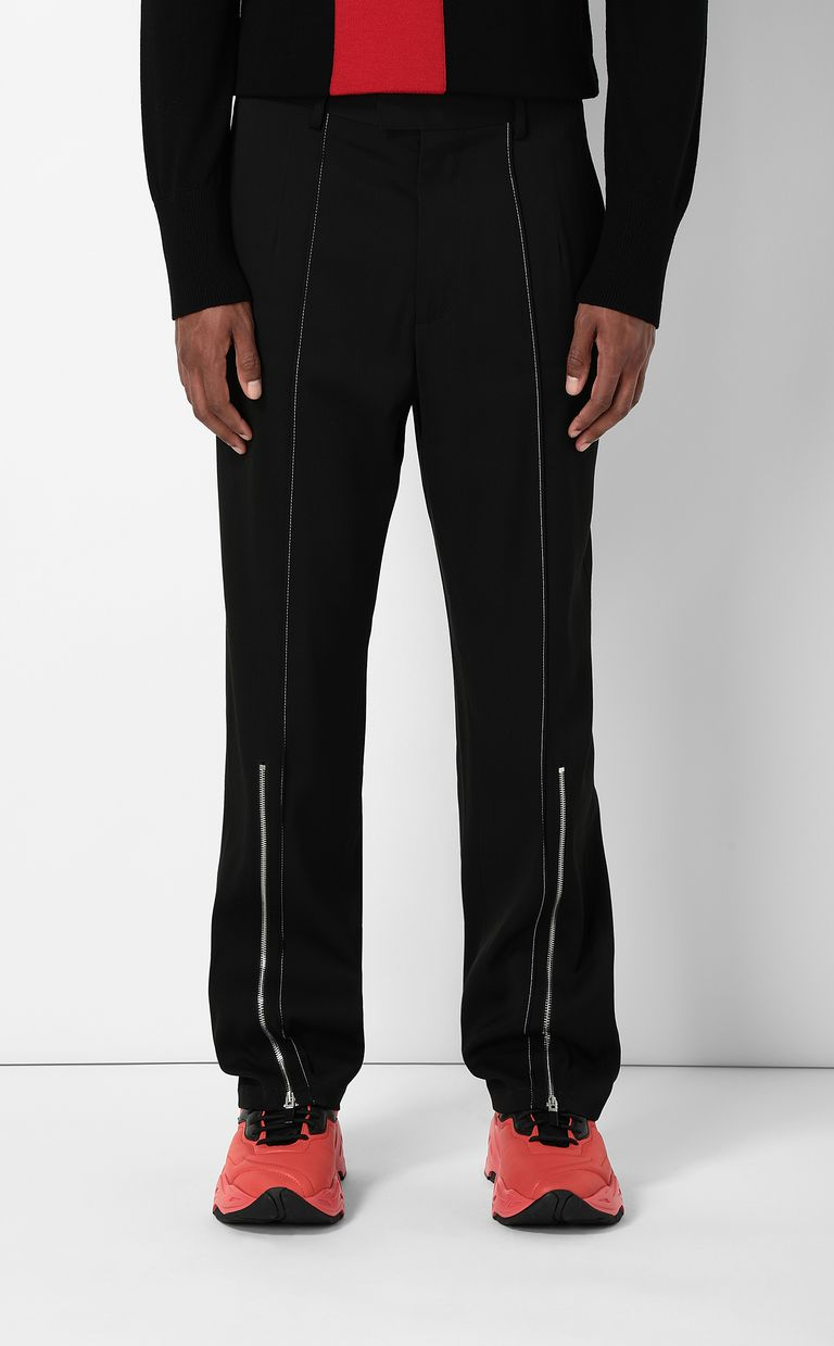 JUST CAVALLI Tailored trousers with zip detail Casual pants Man r