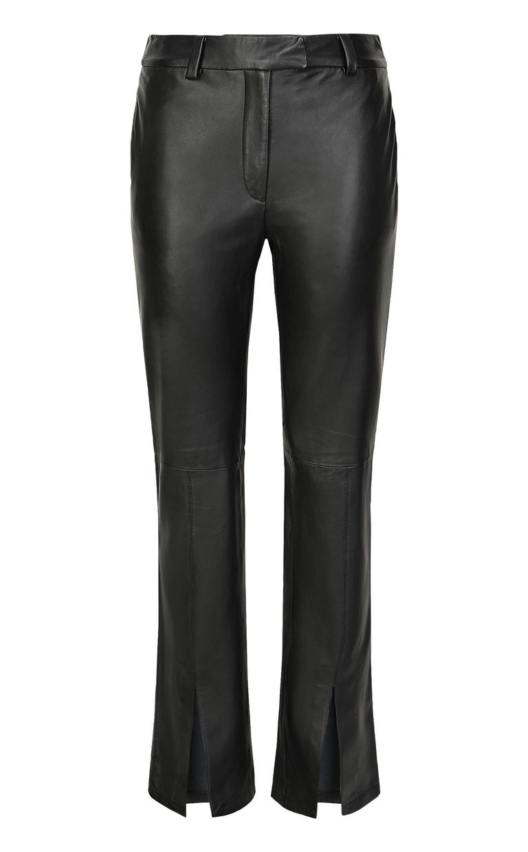 JUST CAVALLI Leather trousers Leather pants Woman f