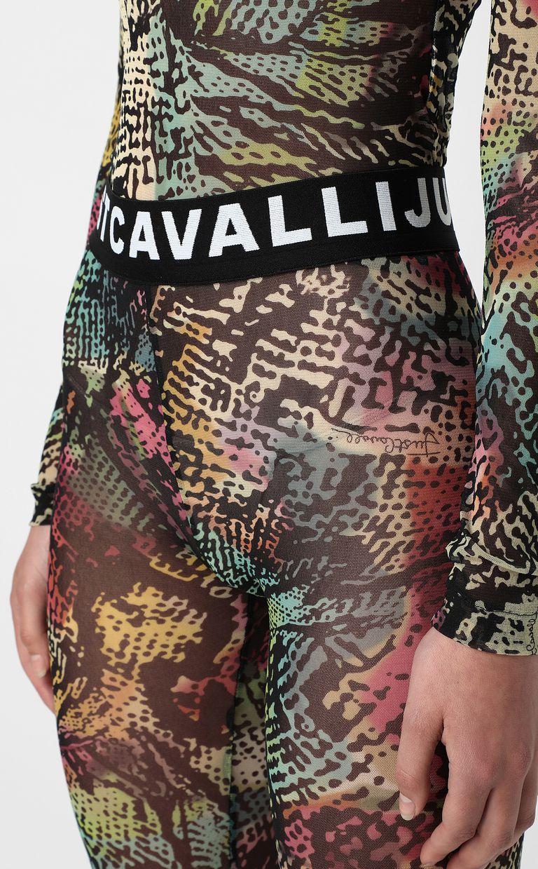 JUST CAVALLI Chameleon-print leggings Leggings Woman e