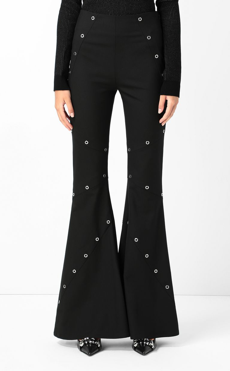 JUST CAVALLI Studded trousers Casual pants Woman r