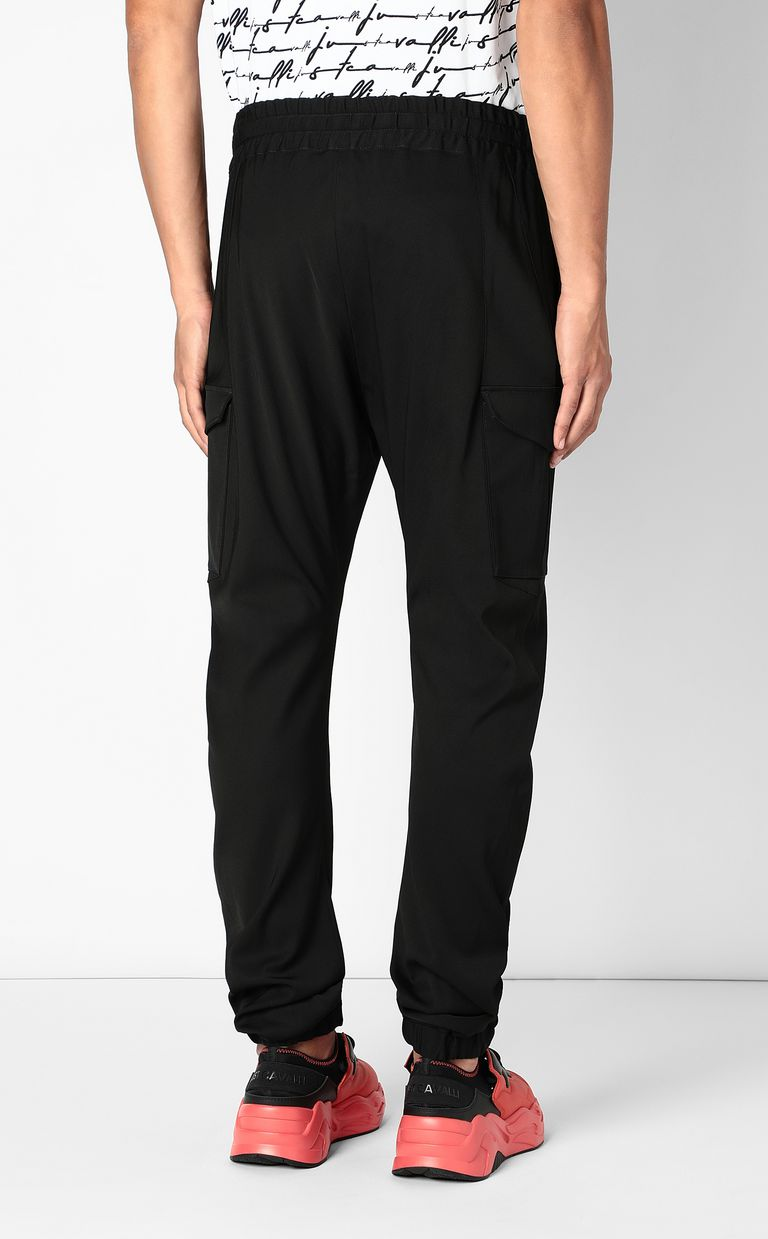 JUST CAVALLI Sporty cargo pants Casual pants Man a