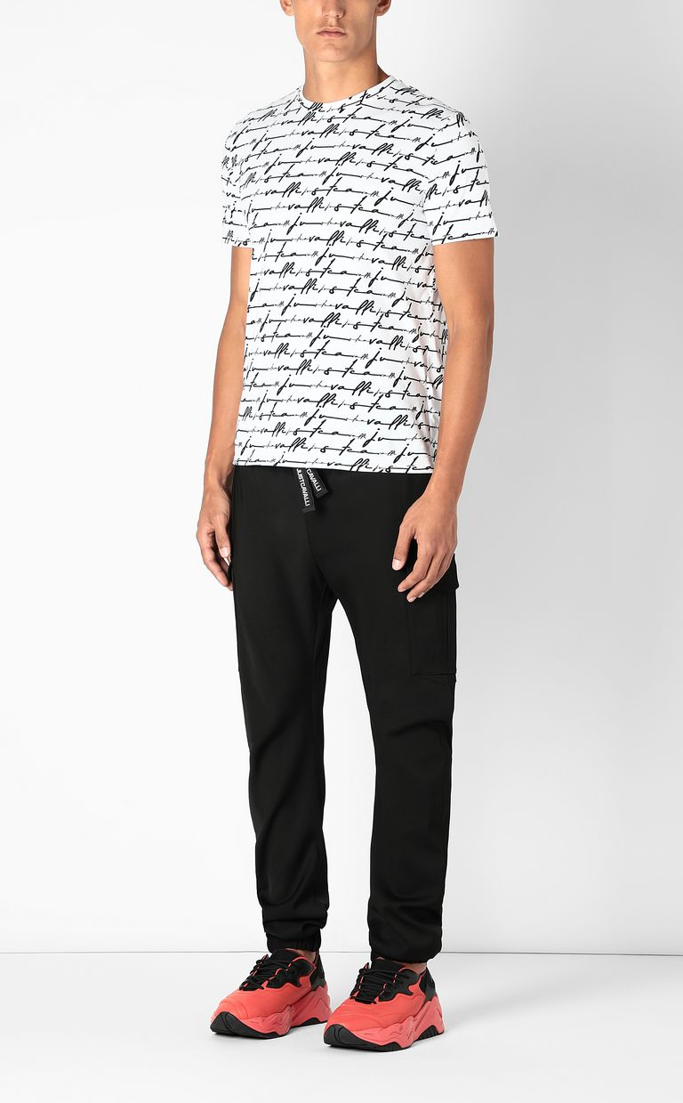 JUST CAVALLI Sporty cargo pants Casual pants Man d
