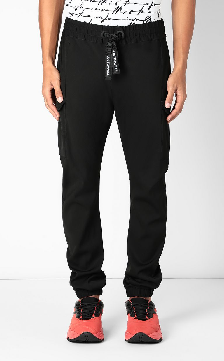 JUST CAVALLI Sporty cargo pants Casual pants Man r