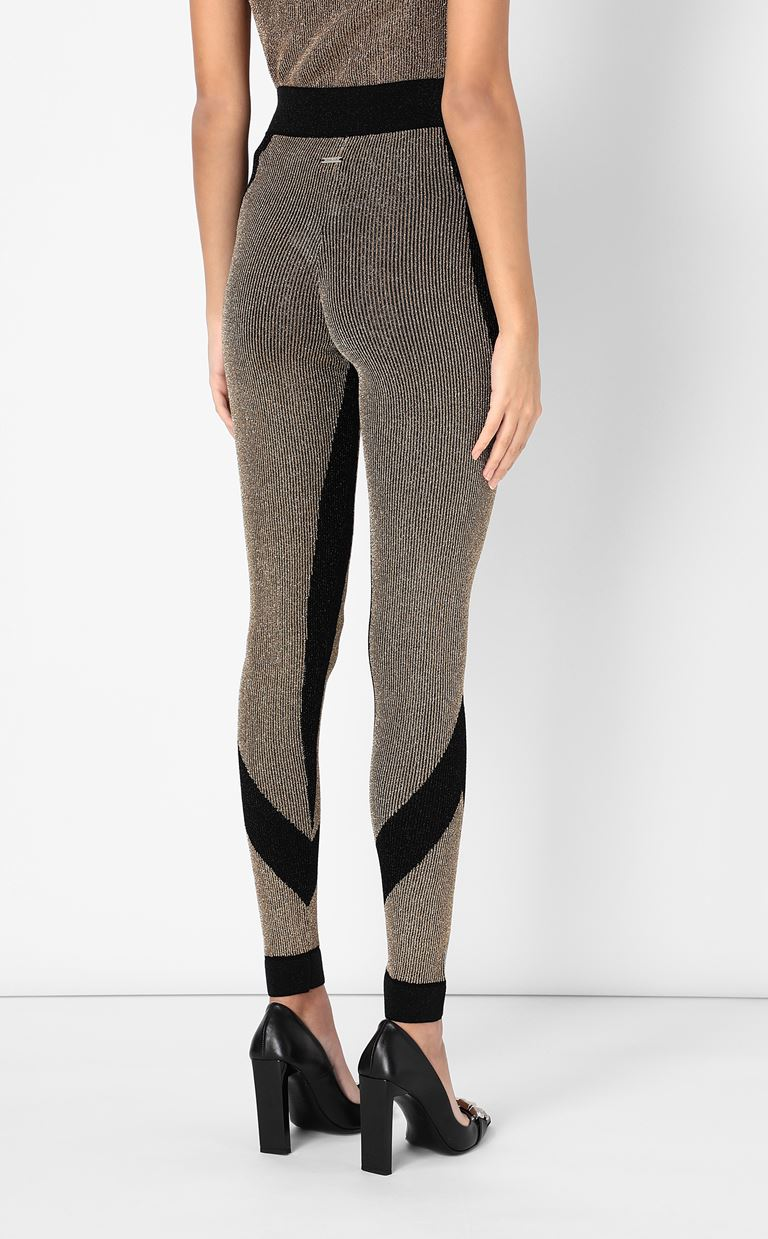 JUST CAVALLI Knitted trousers Leggings Woman a