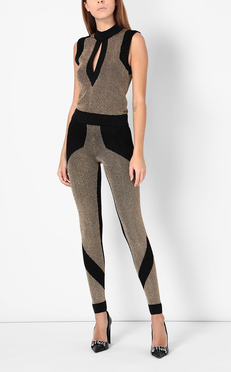 JUST CAVALLI Knitted trousers Leggings Woman d