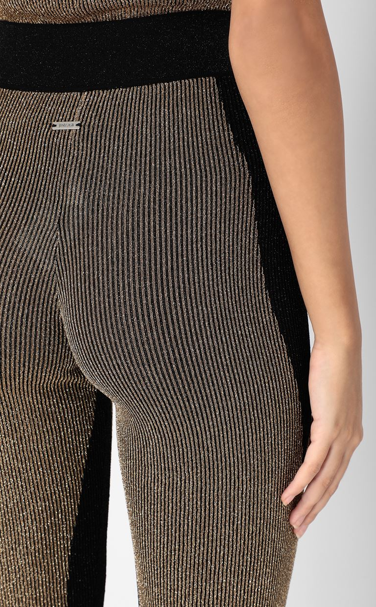 JUST CAVALLI Knitted trousers Leggings Woman e