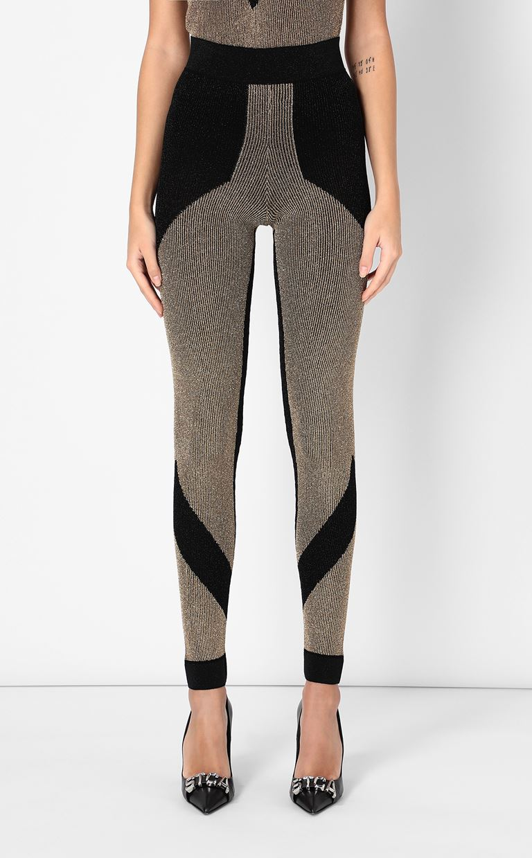JUST CAVALLI Knitted trousers Leggings Woman r