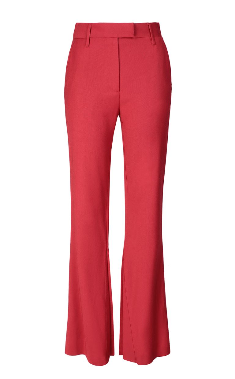 JUST CAVALLI Tailored trousers with logo tape Casual pants Woman f