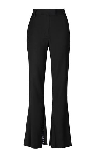 Tailored trousers with logo tape