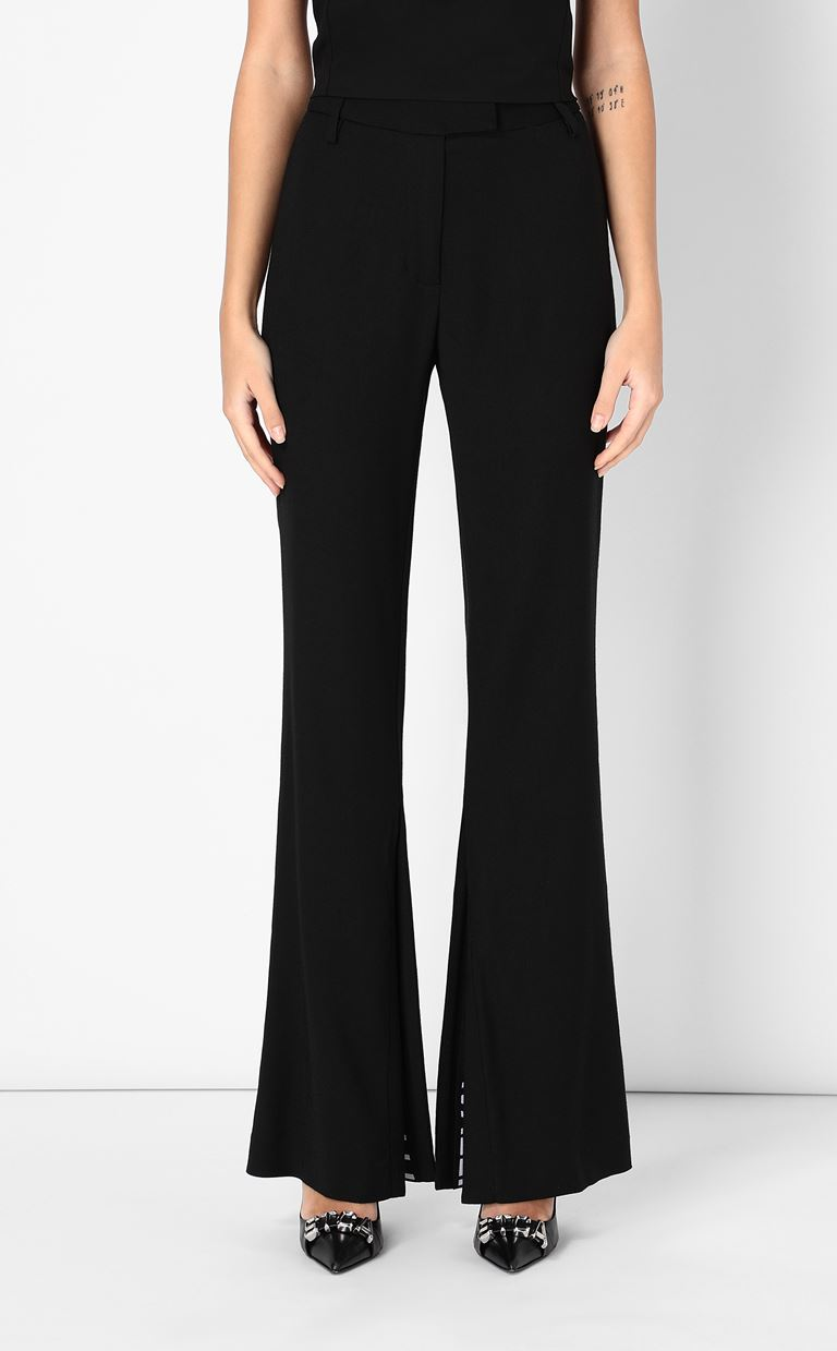 JUST CAVALLI Tailored trousers with logo tape Casual pants Woman r