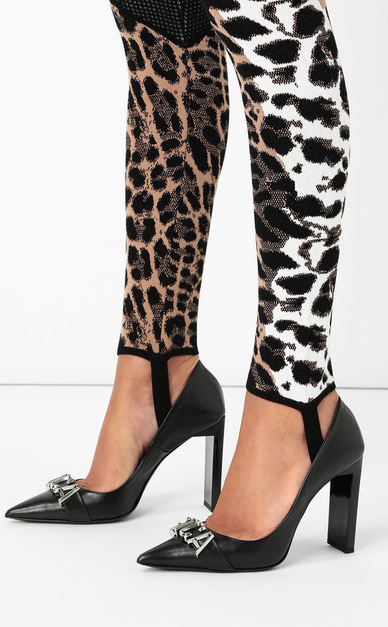 JUST CAVALLI Leggings with leopard-spot pattern Leggings Woman e