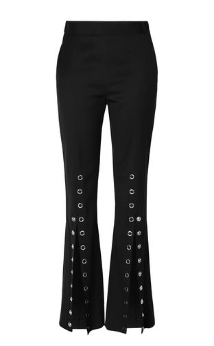 JUST CAVALLI Pantalone Donna Pantaloni Bootcut stampa leopardata f