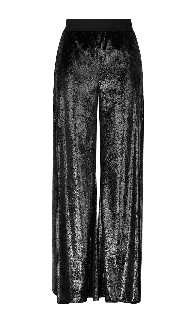 JUST CAVALLI Velvet palazzo pants Casual pants Woman f