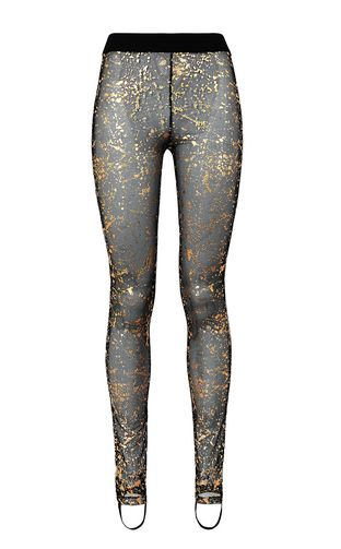 JUST CAVALLI Casual pants Woman Leopard-print bootcut trousers f