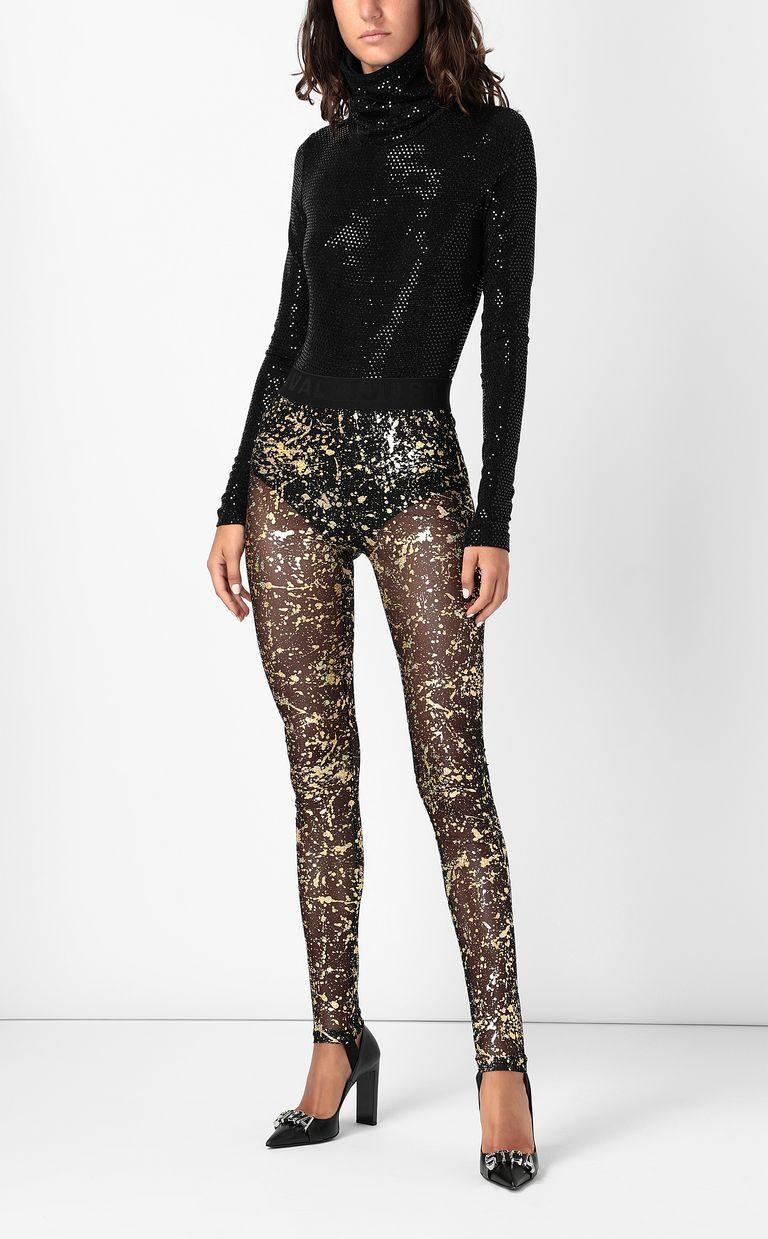 JUST CAVALLI Leggings with gold-tone detailing Leggings Woman d