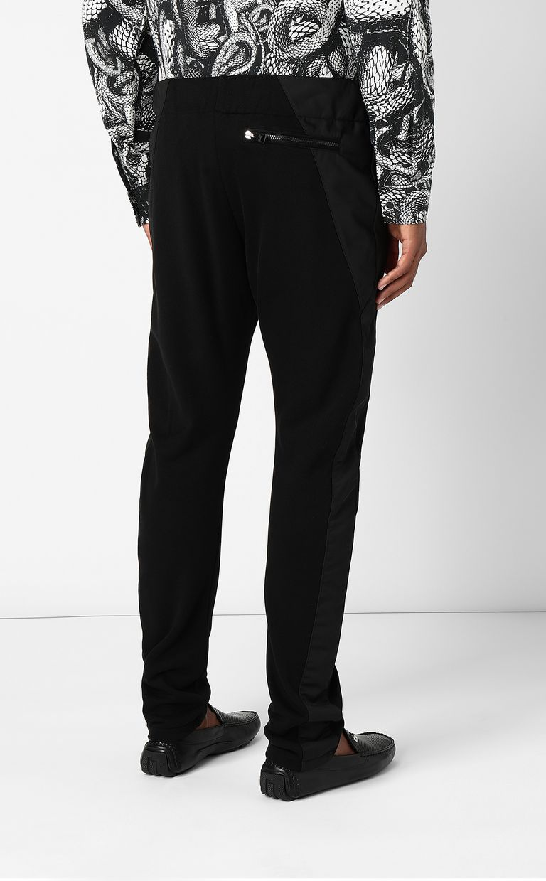 JUST CAVALLI Trousers with hi-tech inserts Casual pants Man a