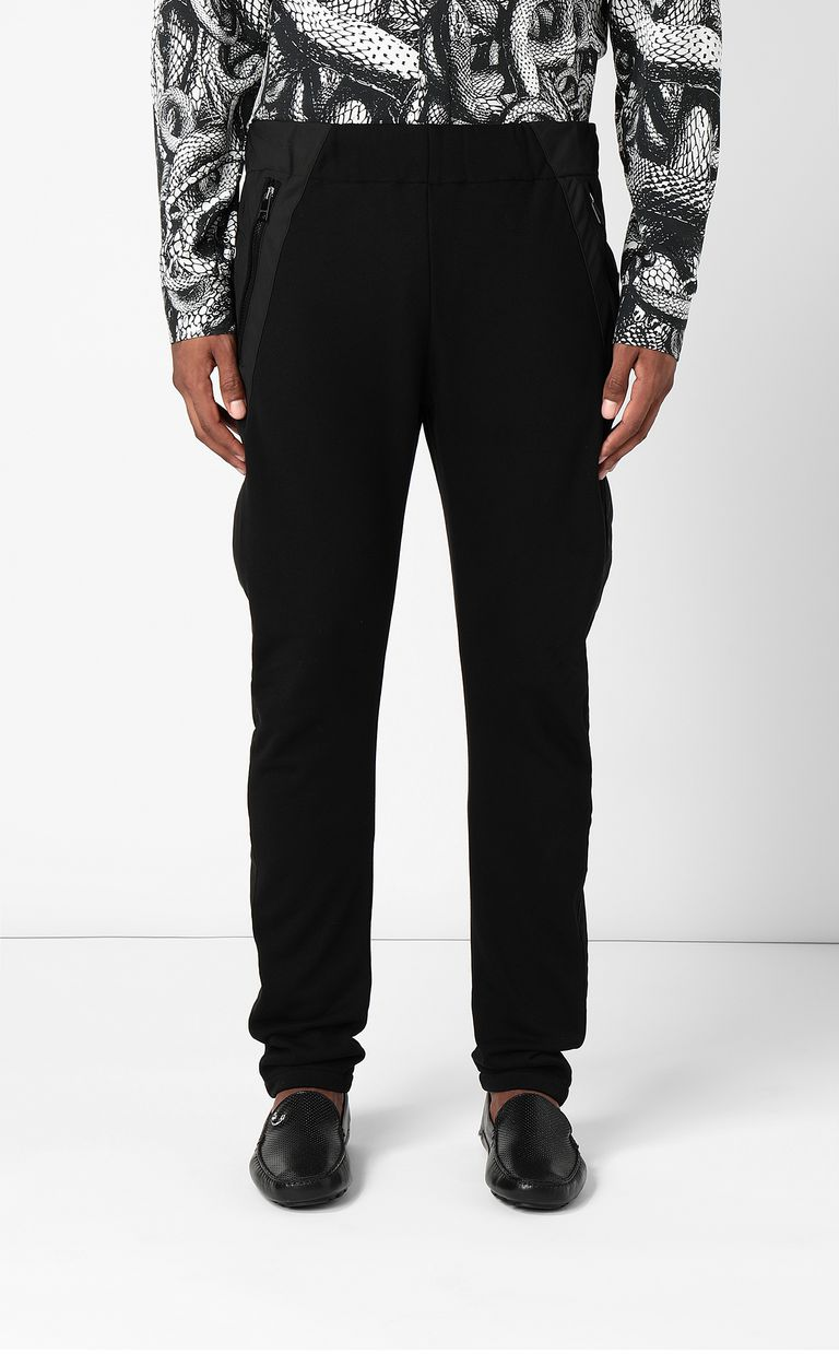 JUST CAVALLI Trousers with hi-tech inserts Casual pants Man r