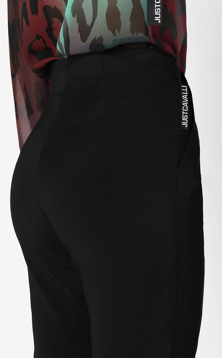 JUST CAVALLI Trousers with large pockets Casual pants Woman e