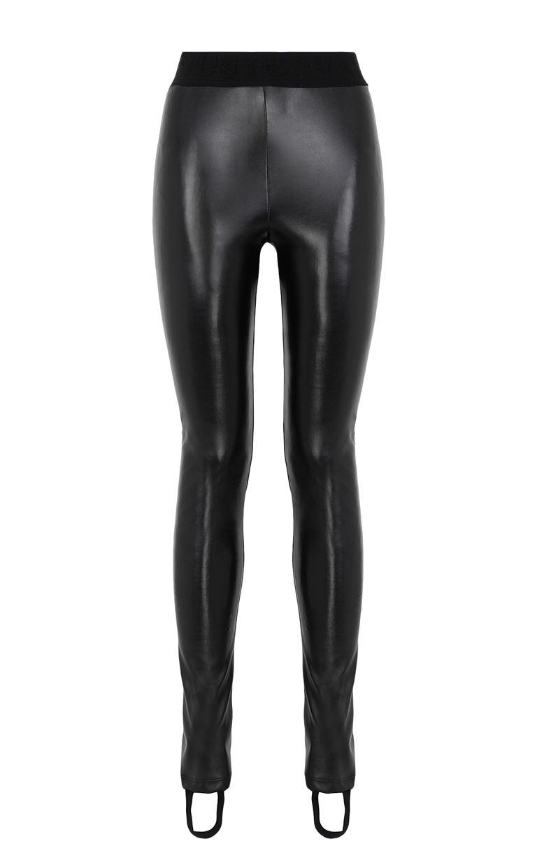 JUST CAVALLI Leggings in a hi-sheen fabric Leggings Woman f