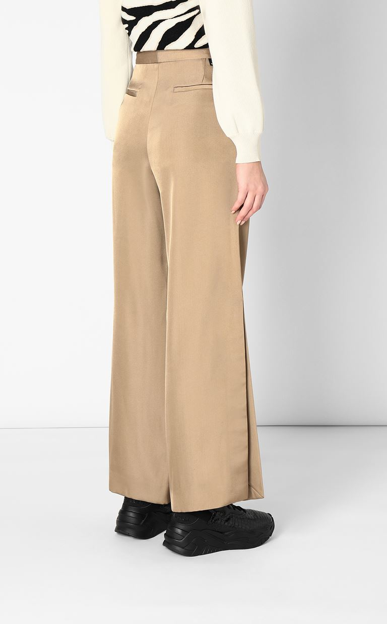 JUST CAVALLI Wide-leg trousers Casual pants Woman a