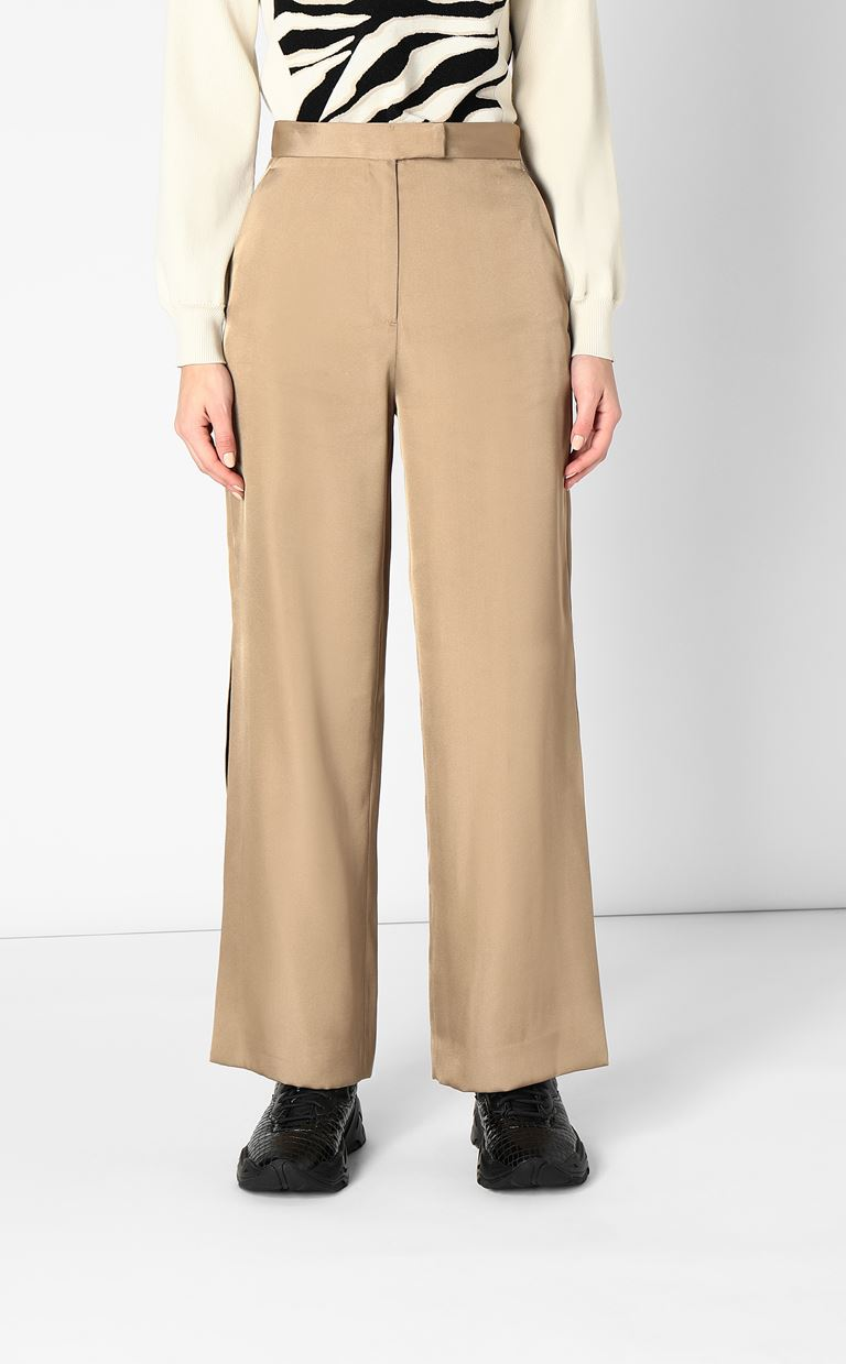 JUST CAVALLI Wide-leg trousers Casual pants Woman r