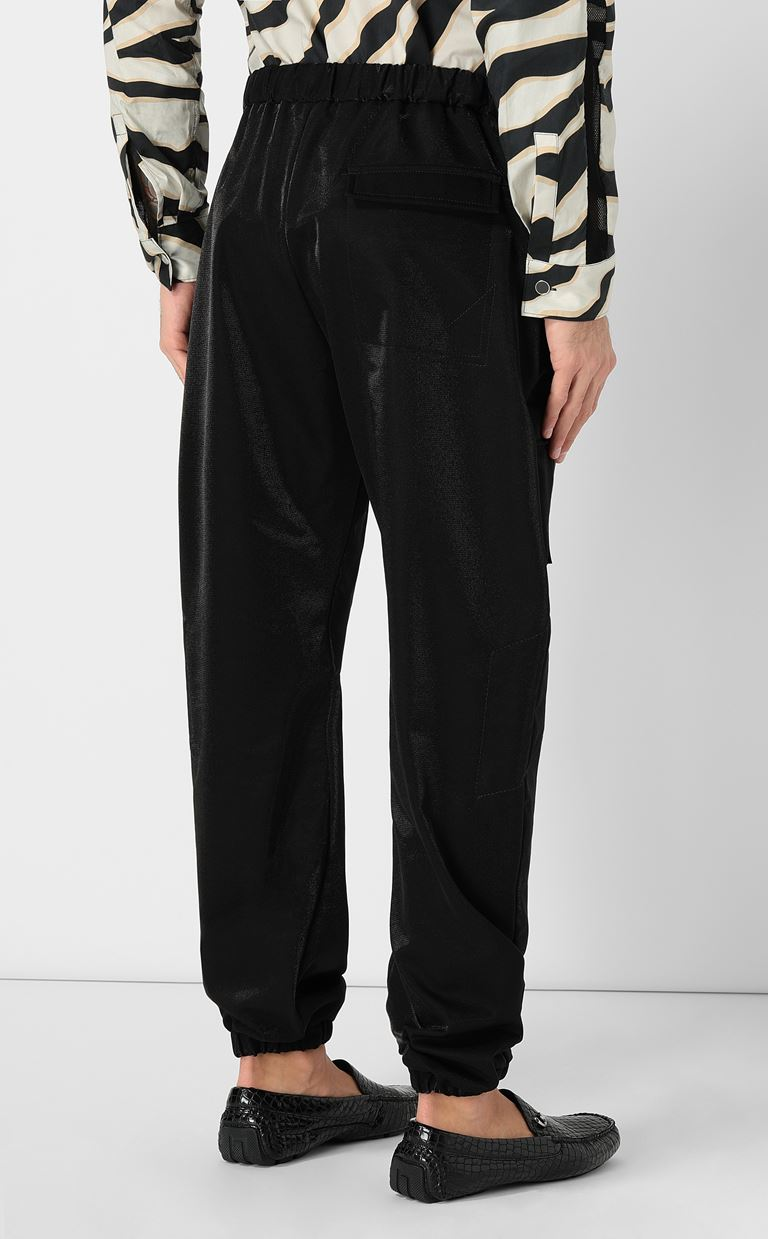 JUST CAVALLI Trousers with large pockets Casual pants Man a
