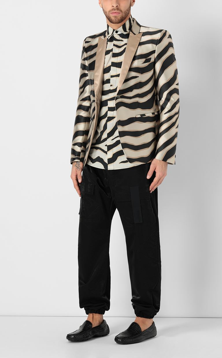 JUST CAVALLI Trousers with large pockets Casual pants Man d