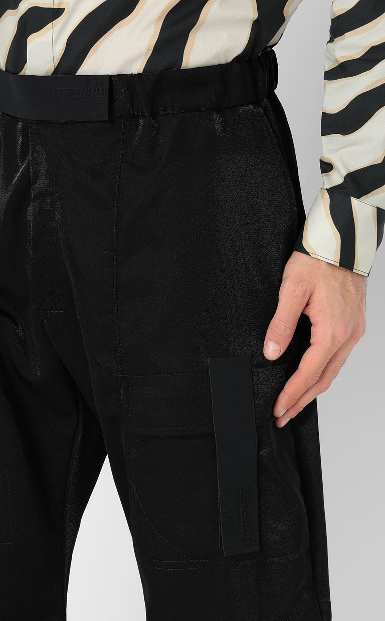 JUST CAVALLI Trousers with large pockets Casual pants Man e