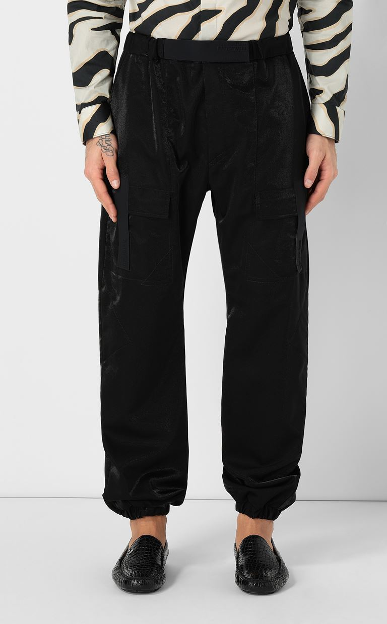 JUST CAVALLI Trousers with large pockets Casual pants Man r