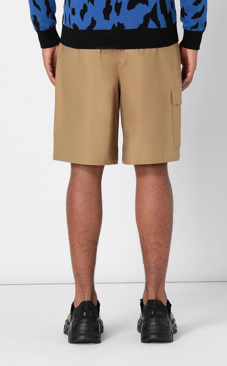 JUST CAVALLI Bermuda shorts with logo Shorts Man a