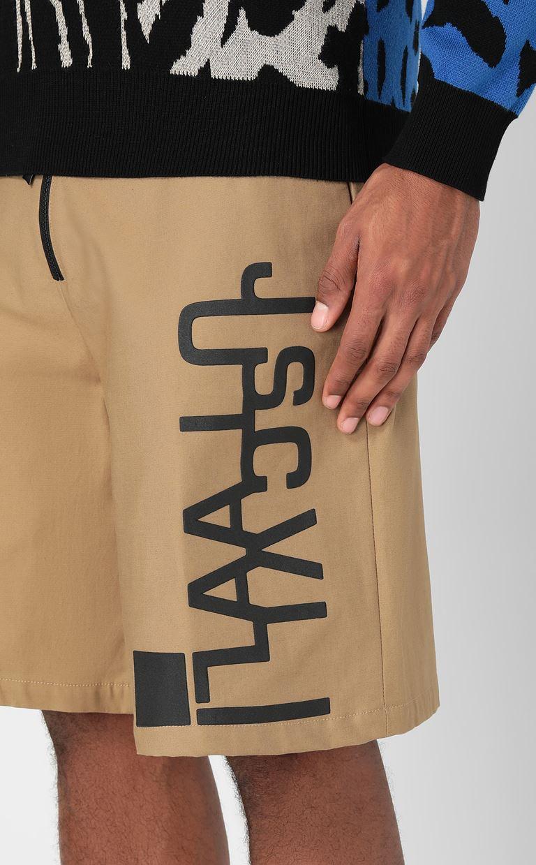 JUST CAVALLI Bermuda shorts with logo Shorts Man e