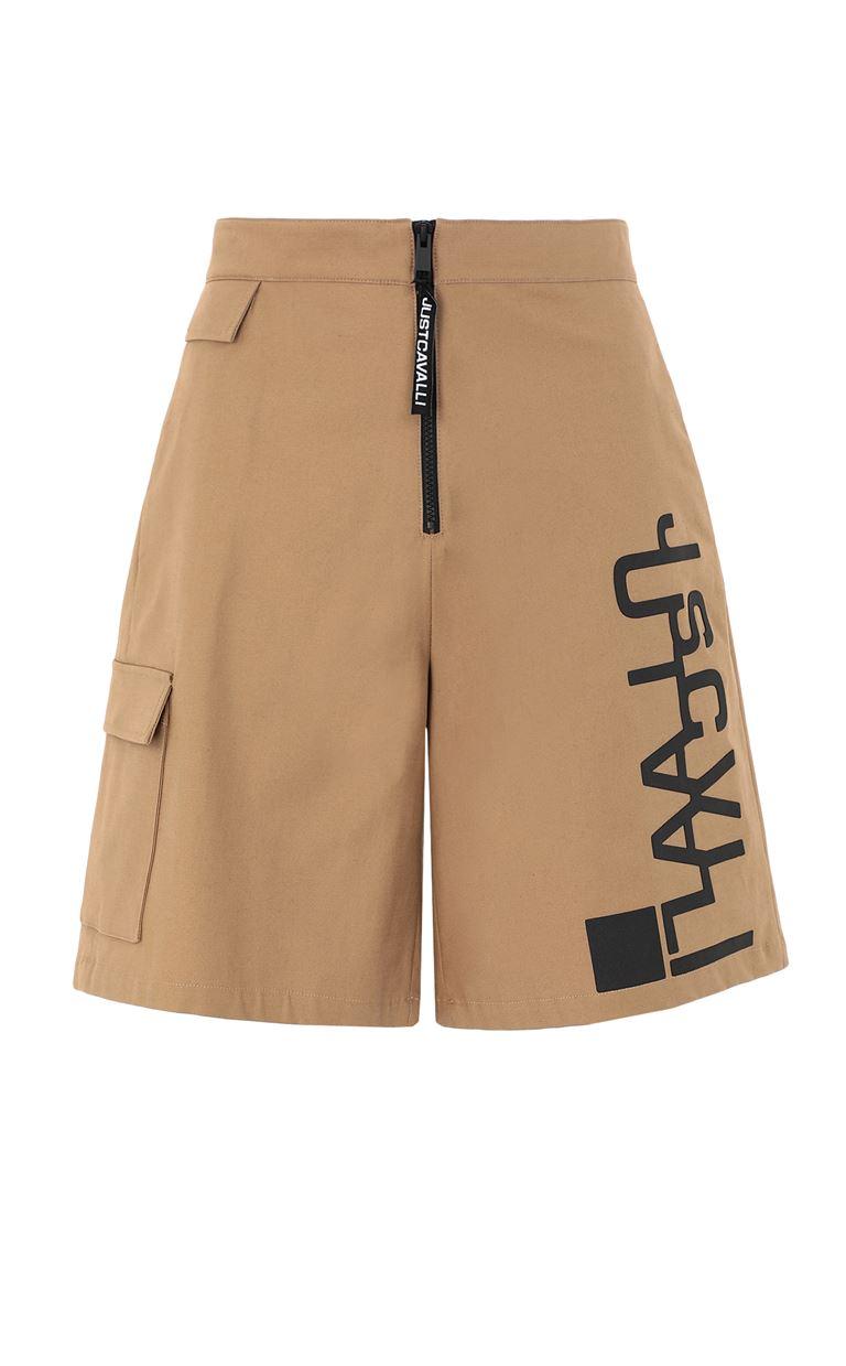 JUST CAVALLI Bermuda shorts with logo Shorts Man f